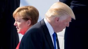 Trump und Merkel wollen den Handel vertiefen