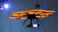 Auch Drohnen sind ein großes Thema auf der diesjährigen Technologiemesse Cebit in Hannover.