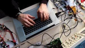 Geschäftsmodell Hacker