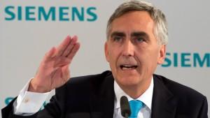 Bis zu 30 Millionen Euro Abfindung für Ex-Siemens-Boss