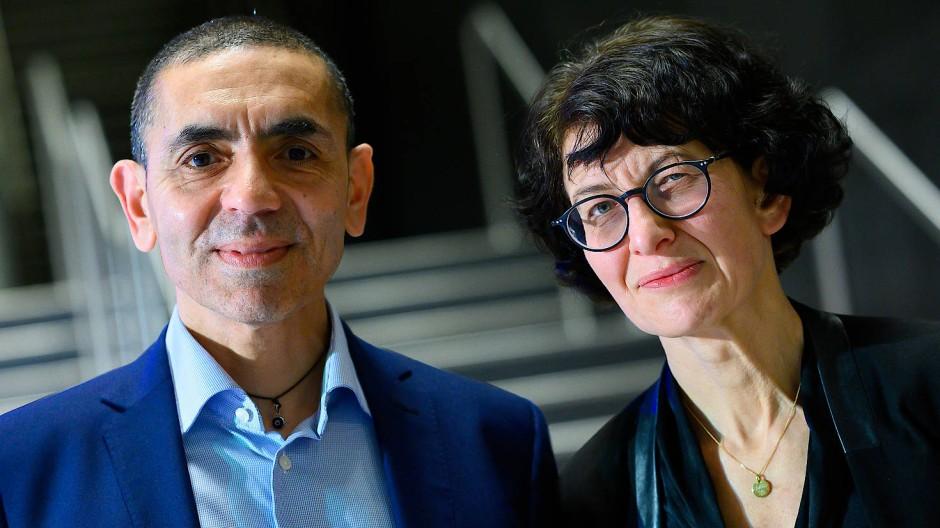 Ugur Sahin und Özlem Türeci haben das Mainzer Unternehmen Biontech gegründet.