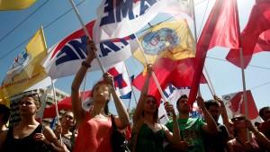 Jugendarbeitslosigkeit in Griechenland steigt weiter