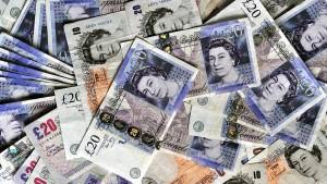Schwächeanfall des britischen Pfunds