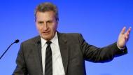 Oettinger: Wir müssen klären, wer für was zuständig ist