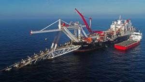 Putin nennt Zeitraum für die Fertigstellung von Nord Stream 2