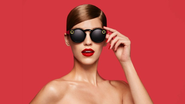 Snapchat stellt Sonnenbrille mit Kamera vor