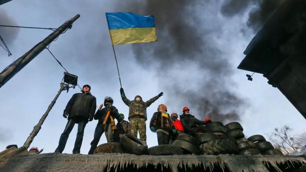 Schlacht um das ukrainische Haus