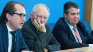 Gabriel: Union verweigert die Rentendiskussion