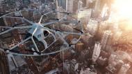 Von der Erfindung zum neuen Beruf: Prototypen für Flugtaxis gibt es schon jetzt; warum nicht bald auch Smart-City-Analysten?