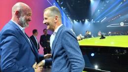 Spitze des VW-Aufsichtsrats berät Dienstag über Diess