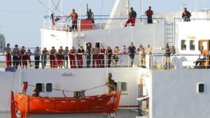 Die Angst vor Piraten beeinträchtigt den Welthandel