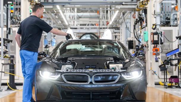 BMW erhält weniger Subventionen