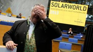 Solarworld-Chef übernimmt Produktionsstätten