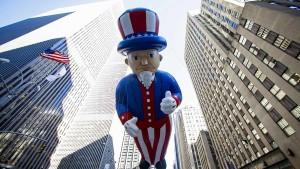 Weniger Arbeitsplätze in Amerika