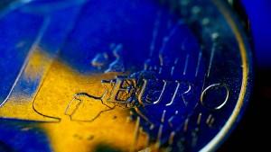 Euro-Inflation schon wieder unter Null