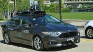 Uber testet selbstfahrende Autos