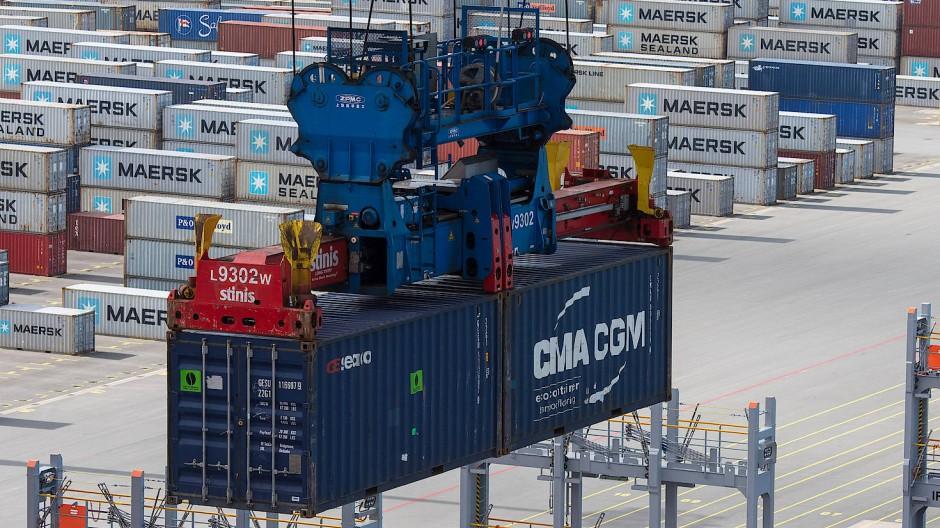 Container in Wilhelmshaven