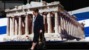 Ratingagentur S&P senkt Ausblick für Griechenland