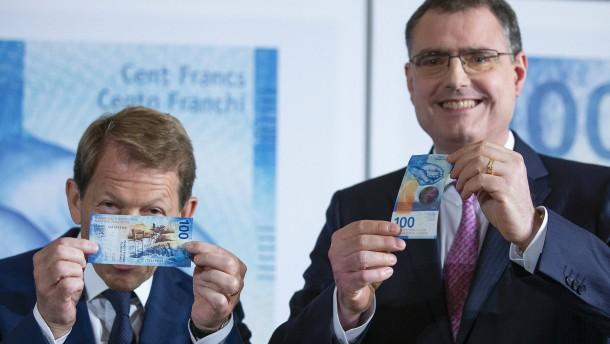 Die Schweiz hat neuen 100-Franken-Schein