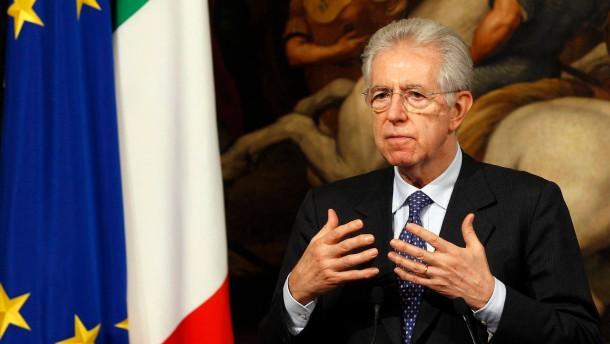 Monti verspricht 11 Prozent mehr Wachstum