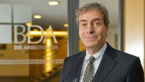 Ingo Kramer wird Arbeitgeberpräsident in widrigem Klima
