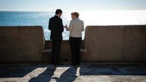Portugal empfängt Merkel in einer Festung