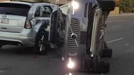 Nach diesem Unfall mit einem selbstfahrenden Volvo hatte Uber seine Fahrzeuge kurzzeitig aus dem Verkehr genommen.