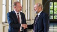 Generationenwechsel: Clemens Fuest folgte Hans-Werner Sinn an der Spitze des Ifo-Instituts