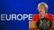 Wie Theresa May wirklich über den Brexit denkt