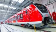 Auch diese neue S-Bahn kommt aus dem Hause Bombadier. Die Bahn hat 60 Exemplare bestellt.