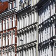 Sanierte Altbauen in Kiel