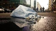 EU will weniger Plastiktüten