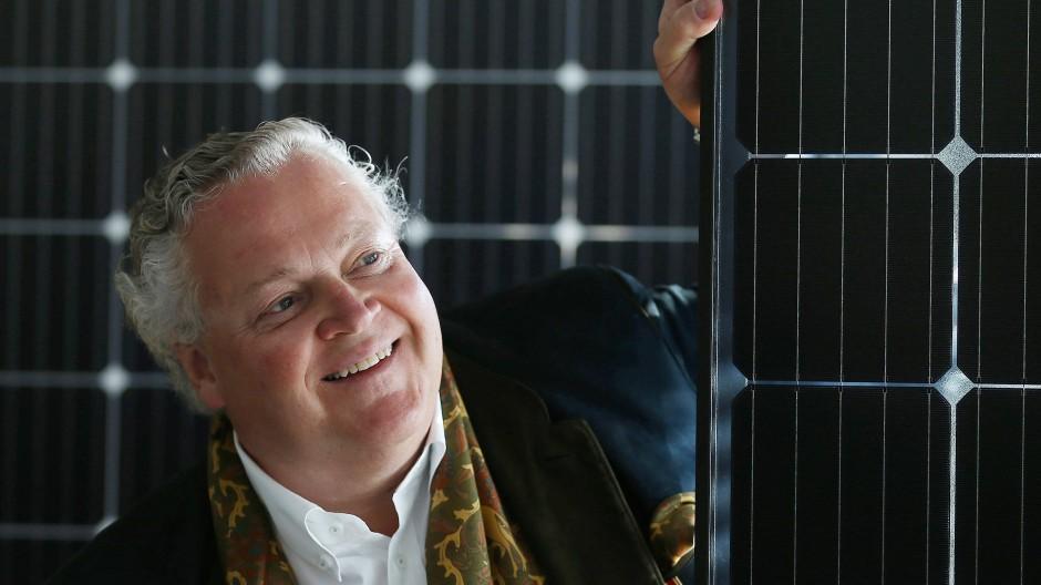 Solarworld ist insolvent, der Vorstandsvorsitzende Frank Asbeck kommt als Sanierer wieder