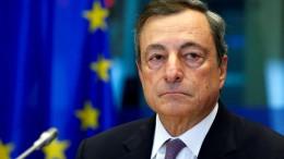 EZB-Chef signalisiert Verringerung der Anleihekäufe