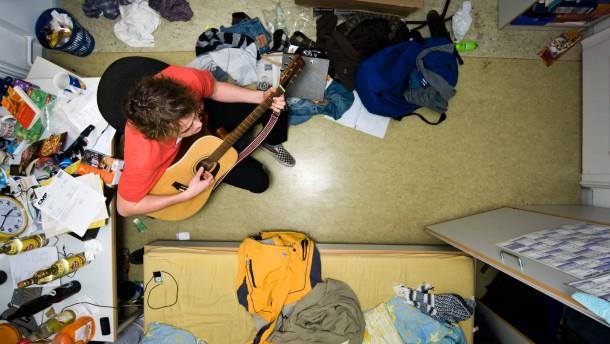 Nirgends finden Studenten so schwer ein Zimmer wie in München