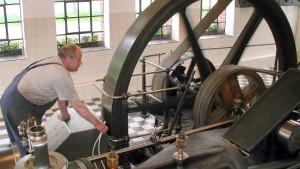 Die Dampfmaschine war die Agentin der Industrie