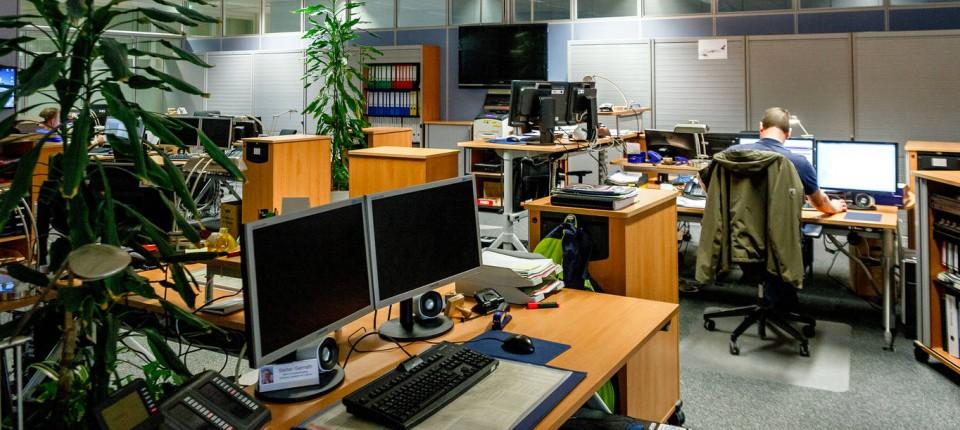 Gut Büro Organisation: Lufthansa Mitarbeiter Verlieren Ihre Festen Schreibtische