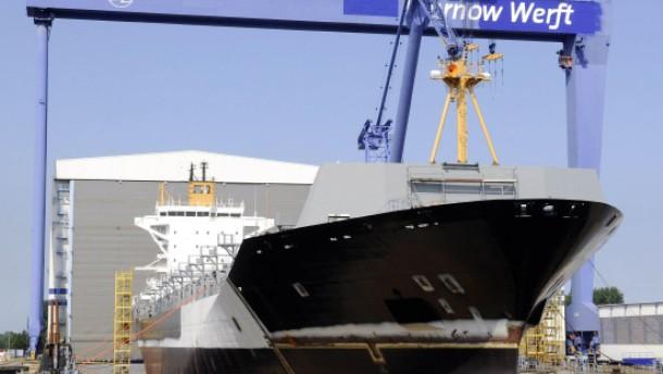Russischer Investor will Wadan-Werften retten
