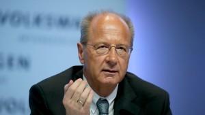 Diskussion um VW-Finanzvorstand Pötsch