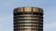 Die Bank für Internationalen Zahlungsausgleich in Basel