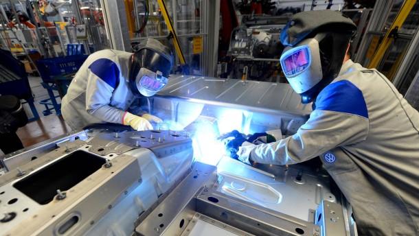 Deutsche Unternehmen weniger optimistisch