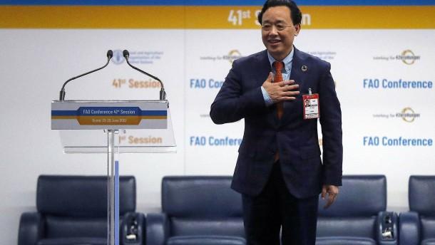Chinesische Führung für die FAO