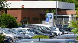 VW wird seine Autos länger als erwartet nicht los