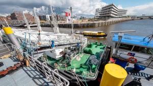 Ein schwimmendes Kraftwerk für Kreuzfahrtschiffe