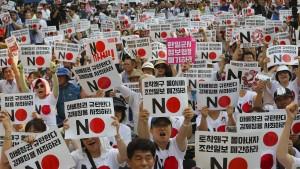 Südkoreaner boykottieren Produkte aus Japan