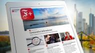 F+ ist das neue digitale Abonnement der Frankfurter Allgemeinen Zeitung.