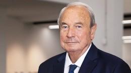 Lufthansa-Großaktionär Heinz Hermann Thiele ist tot