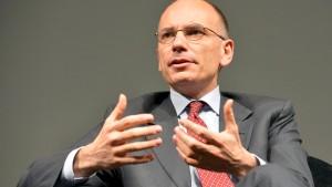 Italiens Regierung will die Wirtschaft beleben