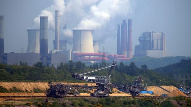 Höchste Braunkohle-Stromproduktion seit 1990
