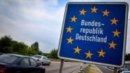 Ziel Deutschland: Die Bundesrepublik gehört zu den Ländern, in das die meisten Migranten wollen, die nach Europa kommen.